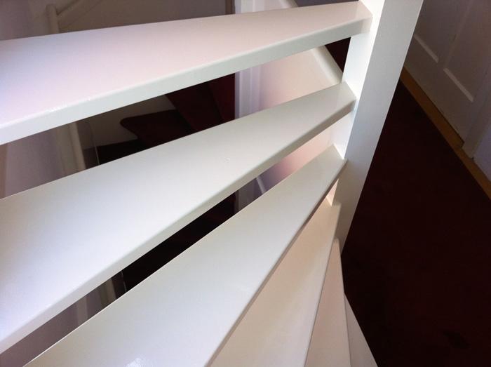 Schilderen open trap for Open trap renovatie